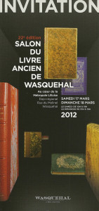 Salon du Livre Ancien de Wasquehal dans Reliures classiques num%C3%A9risation0001-141x300