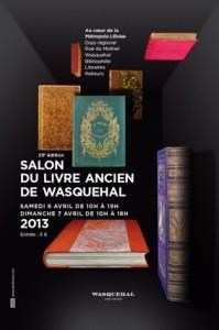 Salon du livre ancien de Wasquehal dans Reliures classiques wasquehal_2013-199x300